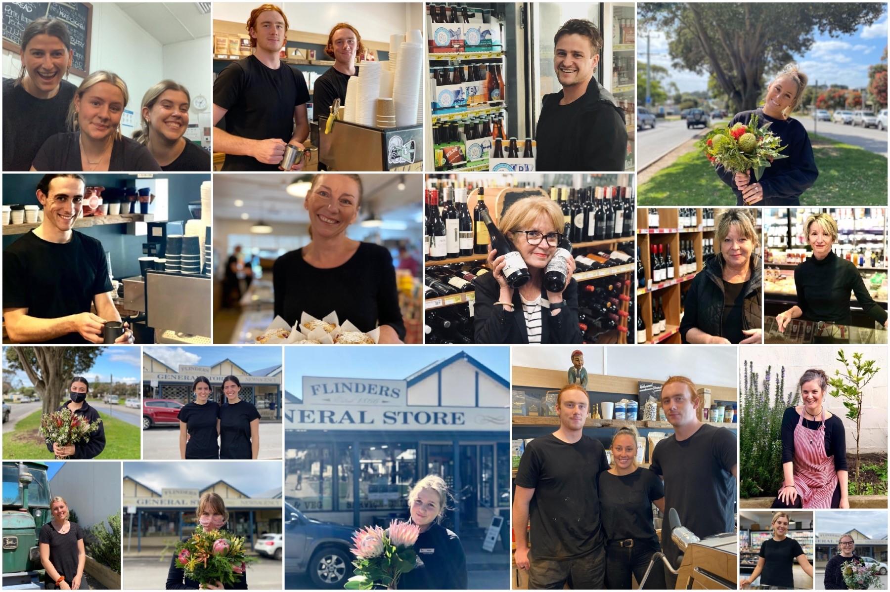 flinders general store staff